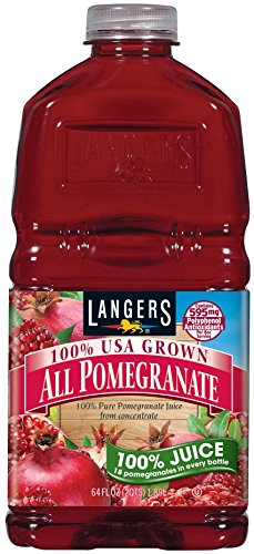 (Langers 100% Juice, All Pomegranate, 64 Ounce (Pack of 8))