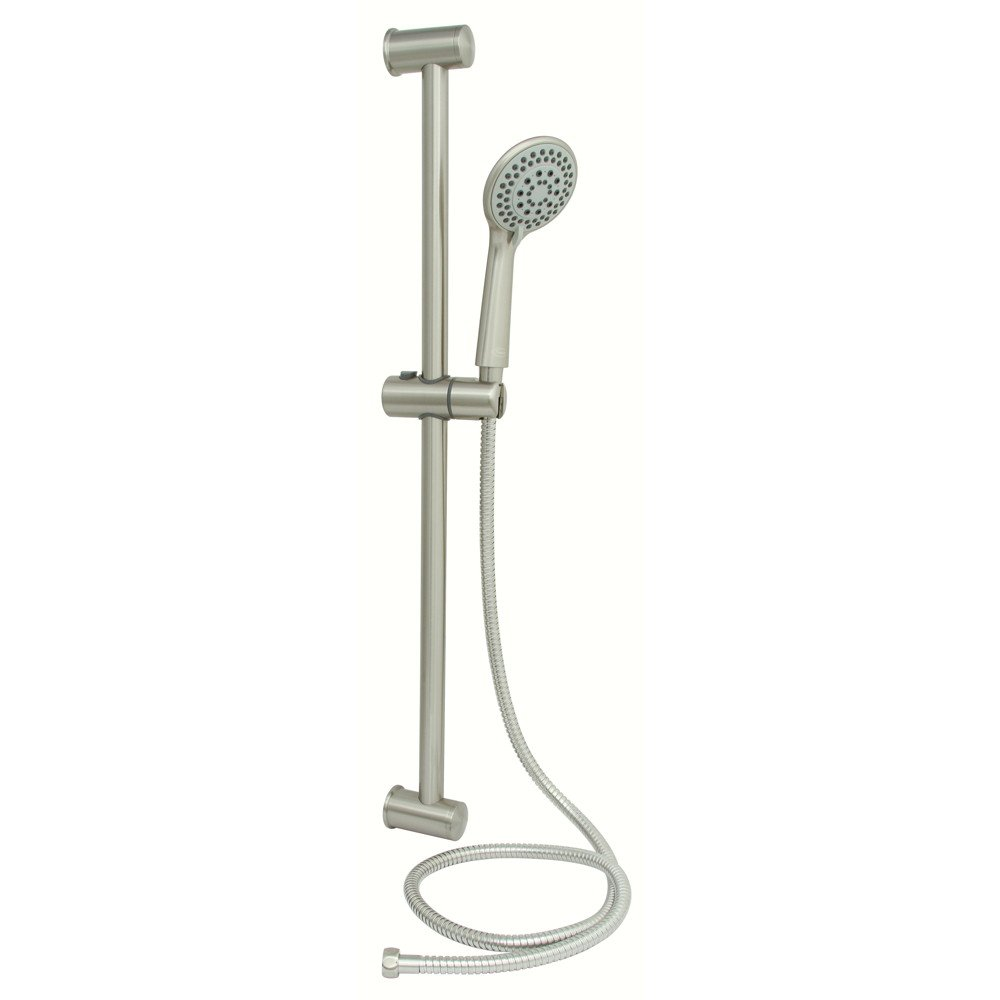 PREMIER DBS20065011-BN SLIDING BAR SHOWER SET WITH 5-FUNCTION HANDHELD SHOWER AND 60 IN. STAINLESS STEEL HOSE, BRUSHED NICKEL (1 PER CASE)