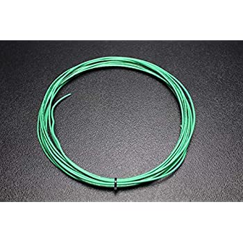 14 GAUGE THHN WIRE STRANDED GREEN 15 FT THWN 600V BUILDING MACHINE CABLE AWG