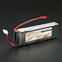 New XF Power 7.4V 2600mah 2S 25C Lipo Battery JST Plug For Wltoys V913 Brushless Heli By KTOY