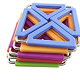 SumDirect 5Pcs Foldable Silicone&Metal Hot Pot holder ,Trivet Mat for Home Kitchen (MultiColor)