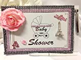 Paris Theme Girl Baby Shower Guest Book