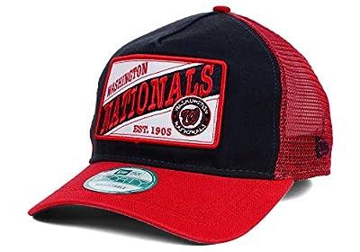 Washington Nationals Men's New Era 9Forty 18 Wheeler MLB Baseball Trucker Hat Cap