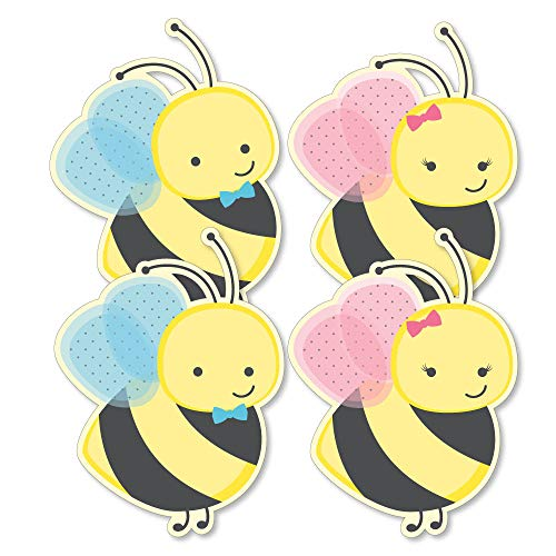 What Will It Bee - Decorations DIY Gender Reveal Essentials - Set of 20