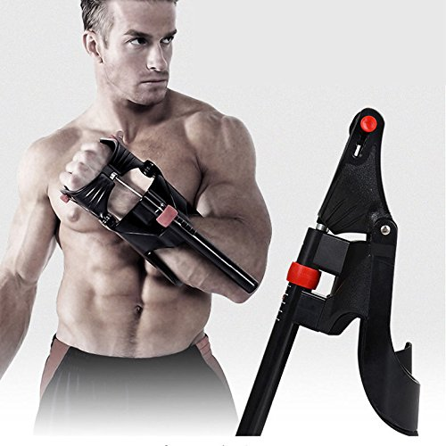 Hand Power Strength Training Grip Forearm Wrist Muscle Gym Fitness Exercise by SINNAYEO