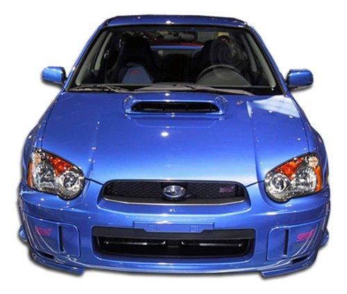 - Duraflex Replacement for 2004-2005 Subaru Impreza WRX STI STI Look Front Bumper Cover - 1 Piece
