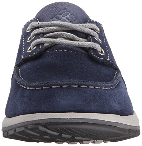 Columbia Davenport Boat, Mocassini Uomo Multicolore (Multicolor (Collegiate Navy/Light Grey))