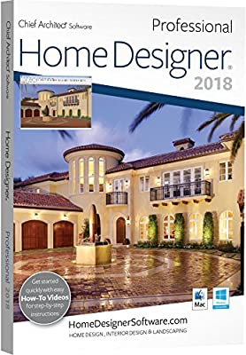 Chief Architect Home Designer Pro 2018 - DVD/Key Card