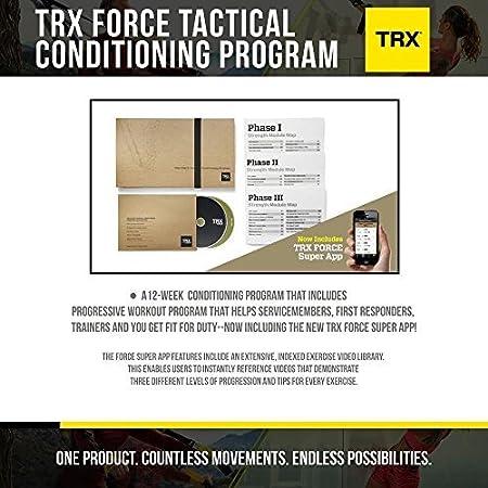 TRX Entrenamiento Programa táctico de acondicionamiento de la Fuerza, Entrenamiento Progresivo de 12 semanas diseñado para Miembros de Las Fuerzas ...