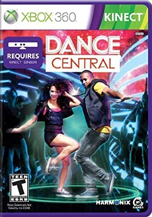 Dance central 2 xbox 360 game.