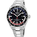 Alpina Alpiner Black Dial Stainless Steel Men's Watch AL550GRN5AQ6B