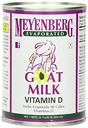 Meyenberg Evaporated Goat Milk 48x 12Oz
