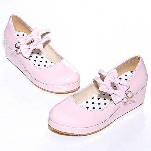 Plateforme Chaussures Pink RAZAMAZA Femmes 13 Tricoter aUwnvwEq1