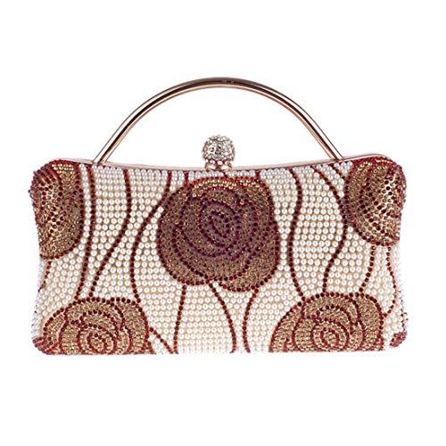 Bag Bag Bag Female Bag Lock Buckle Gold Bag Evening Fly Chain Diamond Shoulder Diagonal Women's Clutch Wild Evening g64xwx5aSq