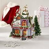 Department 56 North Pole Santas Paper Snowflake Std