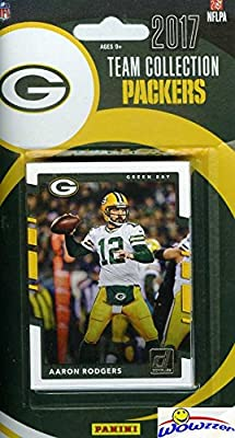 Green Bay Packers 2017 Donruss NFL Football Factory Sealed Limited Edition 13 Card Complete Team Set with Aaron Rodgers, Jordy Nelson,Legend Paul Hornung & Many More! Shipped in Bubble Mailer! WOWZZER