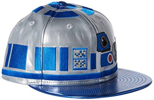 New Era Cap Men's Character Face R2D2 XGYXBL, Silver/Blue, 7.125 (R2d2 Hat)