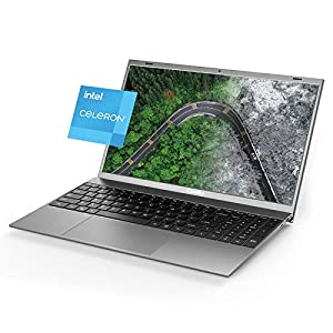 "2021 New Coolby ZealBook Ultra Thin and Light Laptop, Intel J4115Quad-Core 15.6"" 1080P Slim Computer Laptops with Full HD Display, 256GB SSD, 8GB DDR4, Full Size Keyboard, Windows 10-Gray"