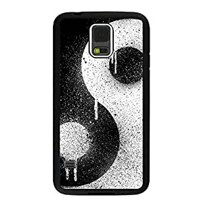 Samsung Galaxy S5 Ying Yang Phone case with Complimentary Screen Guard Free