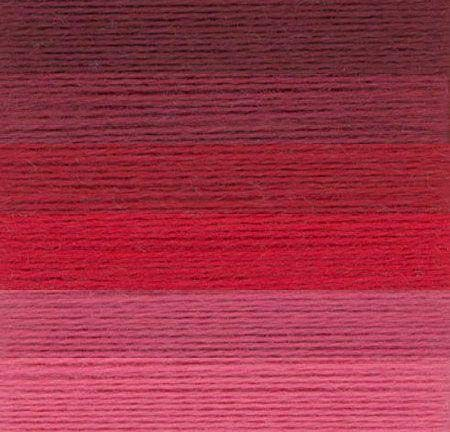 Sue Spargo Ellana Wool Blend Thread for Embroidery - Six 70-Yard Spools, Color Series ''Red's & Pinks' ()