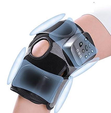 Recargable almohadilla electrica calor rodilla con masaje de vibración y función de compresión de aire,