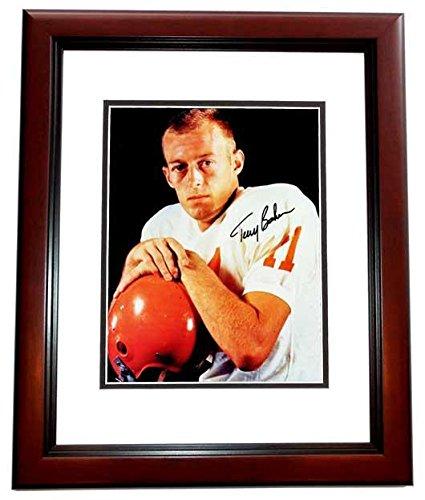 f5783a6bf Autographed Terry Baker Photo - Oregon State Ducks 8x10 MAHOGANY CUSTOM  FRAME 1962 Heisman Trophy Winner