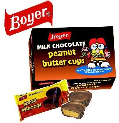 Boyer Candy Company Peanut Butter Cups by Boyer Candy