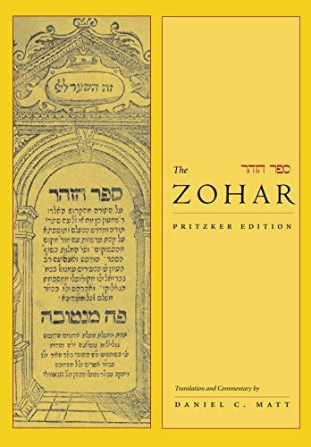 The zohar: pritzker edition, vol. 1: daniel c. Matt: 9780804747479.