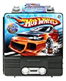 Hot Wheels Rollin' 100 Car Case with Launcher (Colors May Vary)