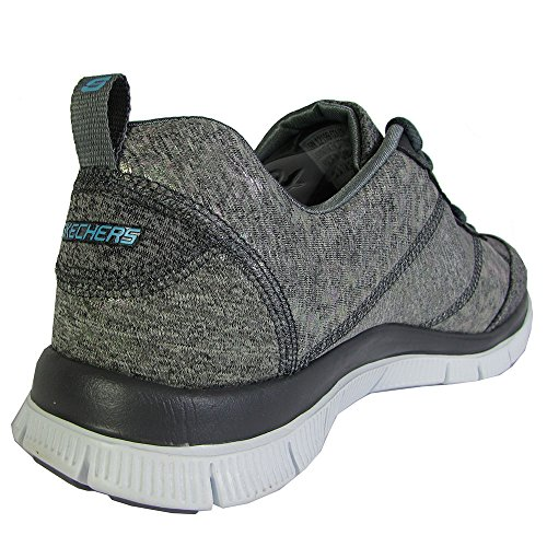 Hills Gry Femme Appeal Gris nbsp;Hollywood Skechers Sneakers Basses Flex qtB78Z