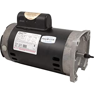 AO Smith/Century Electric Two-Speed, PSC High/Cap Start-Cap Run Low, 1.0 / .13HP, 3450/1725RPM, 230V, 7.4/1.4 AMPS, 1.65SERVICE Factor, Square Flange