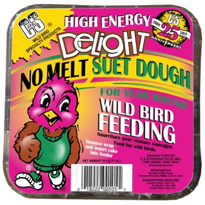 No Melt Suet Dough Cake For Wild Birds