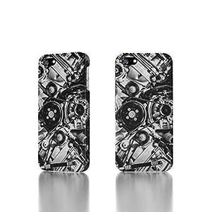 Apple iPhone 4 / 4S Case - The Best 3D Full Wrap iPhone Case - Big Block Engine