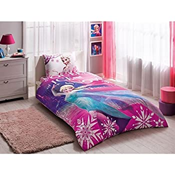 Amazon.com: Children\'s Bedding Princess Elsa Anna Frozen Bedding ...