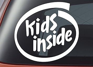 Kinder Innen Vinyl Aufkleber Auto Fenster Aufkleber Bumper Aufkleber
