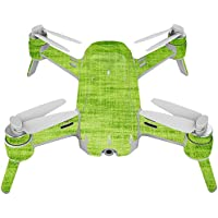 Skin For Yuneec Breeze 4K Drone – Green Fabric | MightySkins Protective, Durable, and Unique Vinyl Decal wrap cover | Easy To Apply, Remove, and Change Styles | Made in the USA