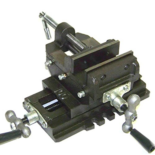 Heavy Duty 6'' Cross Drill Press Vise Slide Metal Milling 2 Way Clamp Vice by Generic