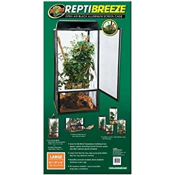 Amazon Com Zoo Med Reptibreeze Chameleon Kit Pet Supplies