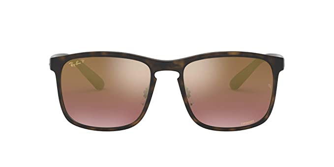 Ray-Ban 4264 Gafas de sol, Matte Havana, 58 para Hombre