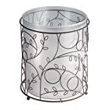 InterDesign Twigz Free Standing Toilet Paper Holder – Dispenser and Spare Roll Storage for Bathroom