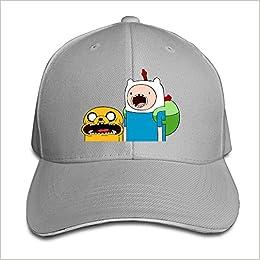 6121fbaf0c7 MARC Custom Adventure Time Jake   Finn Unisex Trucker Hats Caps Ash Apparel