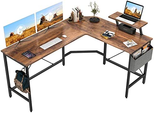 Cubiker Modern L-Shaped Computer Office Desk