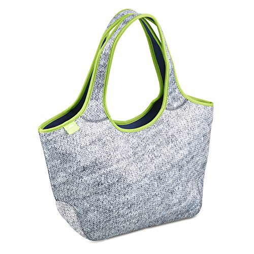 Cool Everyday Shoulder Bag For Women | Made of Insulated Neoprene | Works Great As Baby Diaper Bag and Women Tote Handbag | This Women's Lunch Bag Purse Is Cool, - Totes World Sunglass