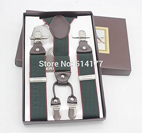 outlet in vendita stile squisito quantità limitata LLZGPZBD Bretelle/Bretelle Uomo Esercito Bretelle Moda ...
