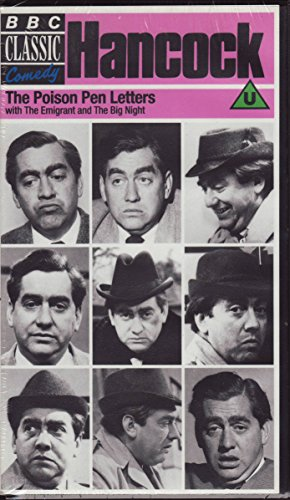 Hancock: Poison Pen Letters (w/ 2 other episodes: The Emigrant and The Big Night)[VHS]