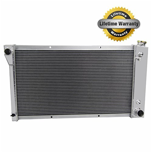 "Primecooling Full Aluminum Radiator for Chevy /GMC C/K Series Pickup Truck ,Blazer,etc.1967-72 ""3 Row Core Construction"""