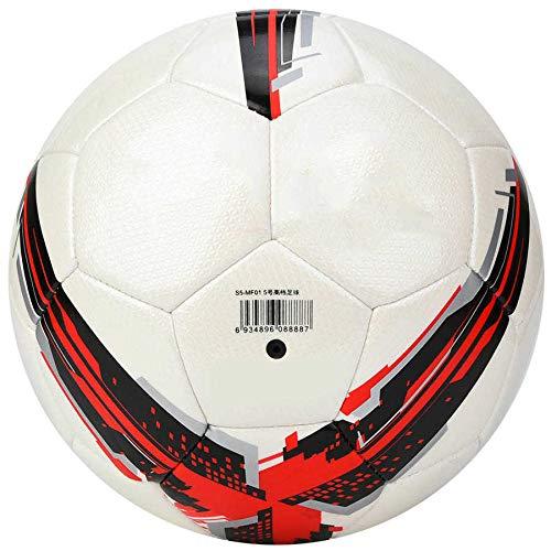 aolongwl Balón de fútbol Deportes Fútbol Fútbol Balón Competencia Entrenamiento Oficial 5 Aguja Neta
