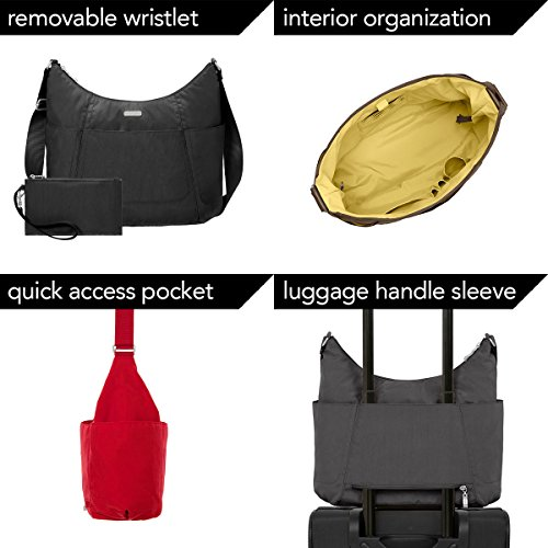 Hobo Pocketed Lightweight Baggallini with Wristlet Water Multi Tote Resistant Pacific Purse Travel BdTxFq