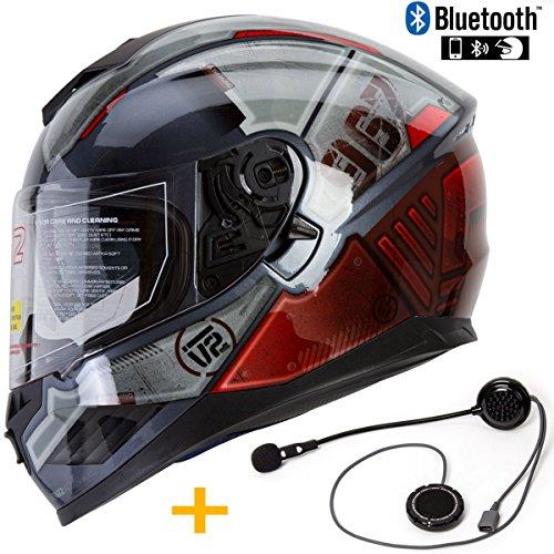 xxl modular bluetooth helmet - 5