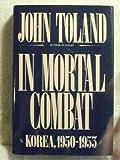 Book cover for In Mortal Combat: Korea, 1950-1953